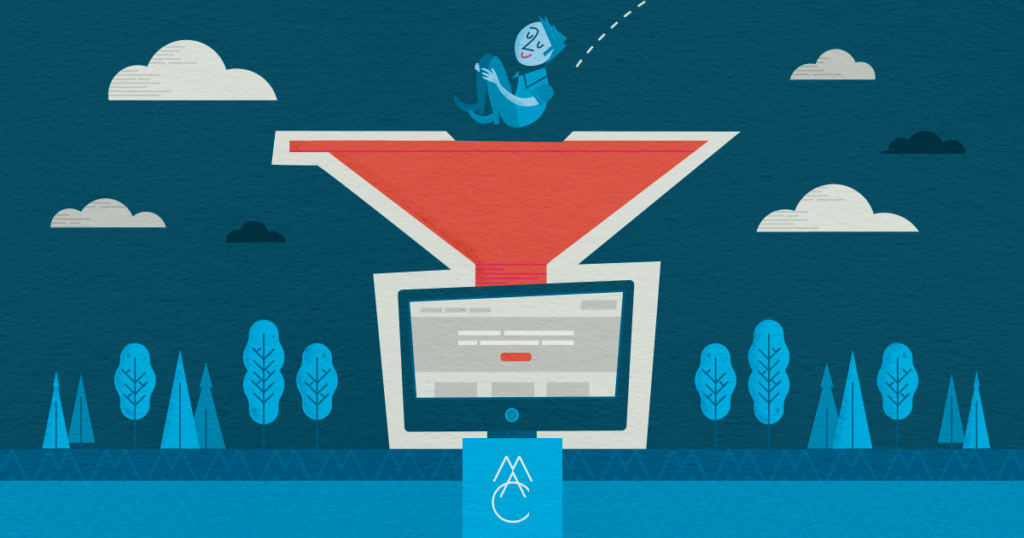 How to match the marketing funnel with web content strategy